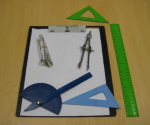 Perfect for Students Geometric Set in Braille